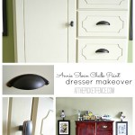Annie Sloan Chalk Paint Dresser Makeover from www.atthepicketfence.com