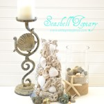 ballard design inspired sea shell topiary