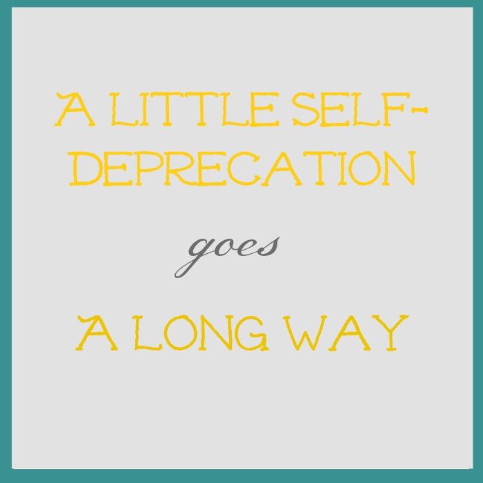 self deprecation