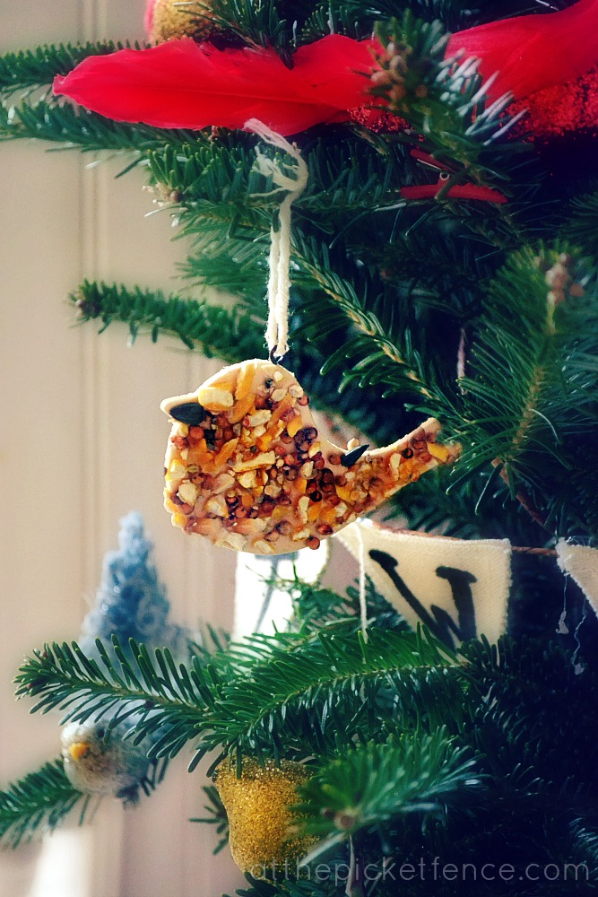 Birdseed Ornament from At The Picket Fence