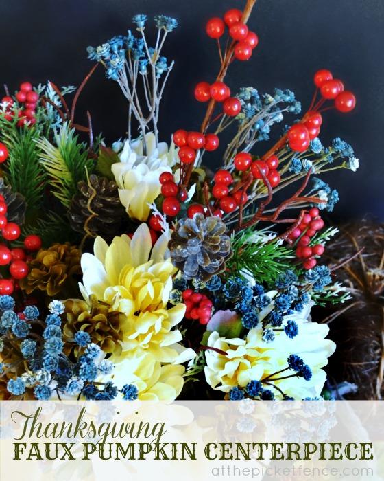 An Easy Thanksgiving Centerpiece Idea