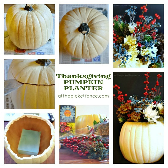 An Easy Thanksgiving Centerpiece Tutorial