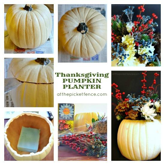 An Easy Thanksgiving Centerpiece Tutorial
