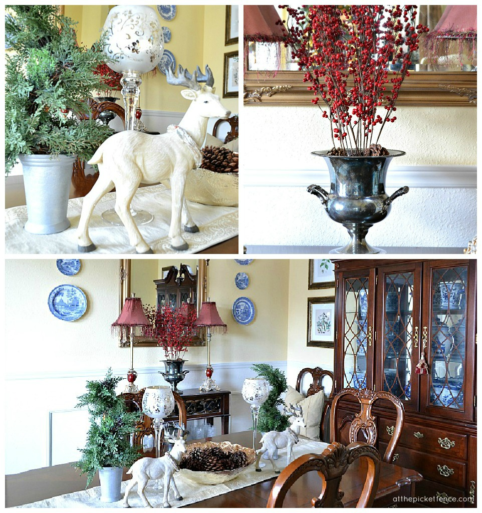 Christmas dining room 2012 At the Picket Fence