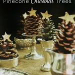 Pinecone Christmas Trees from At The Picket Fence