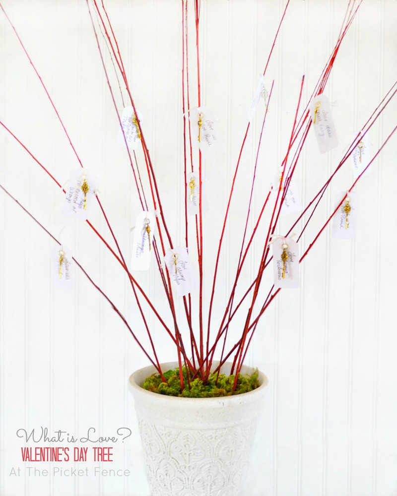Valentine's Day Tree from At The Picket Fence label