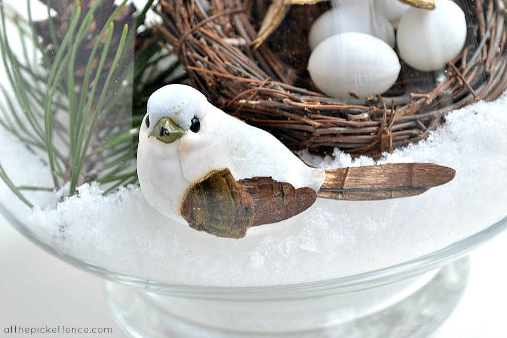 winter bird craft1 at the picket fence