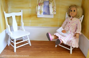 American Girl Dollhouse 1st floor At the Picket Fence