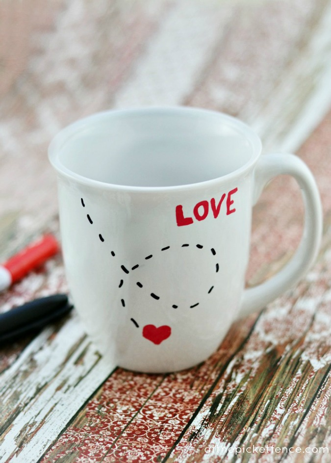 DIY Love Mug…for Valentine's Day!