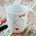 DIY Love Mug from At The Picket Fence