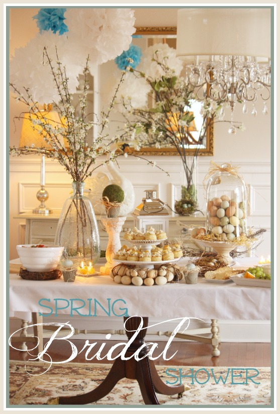 Spring Bridal Shower from Stone Gable