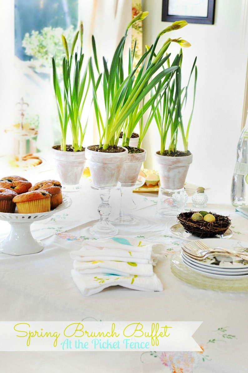 Easter Brunch Buffet ~ Care to Join Me?