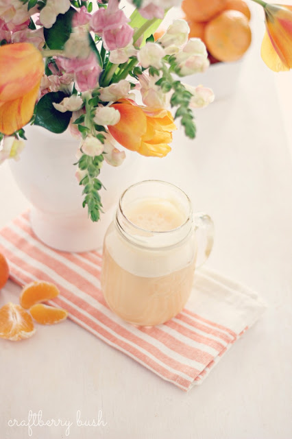 Mandarin Orange Cream Shake from Craftberry Bush