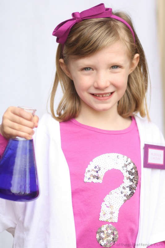 Science themed birthday party ideas