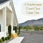 Desert Oasis Home Tour at the picket fence