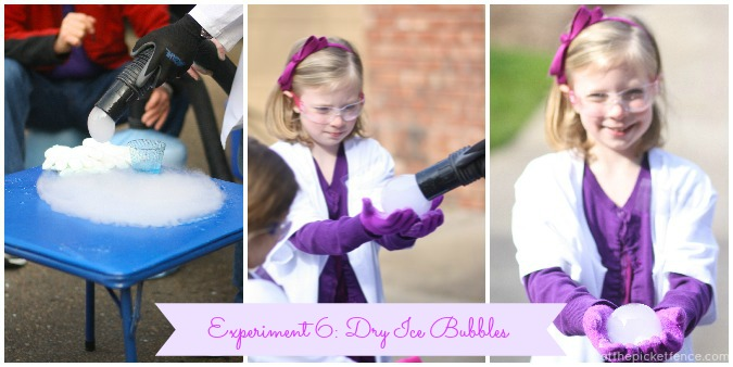 Dry Ice Bubbles www.atthepicketfence.com