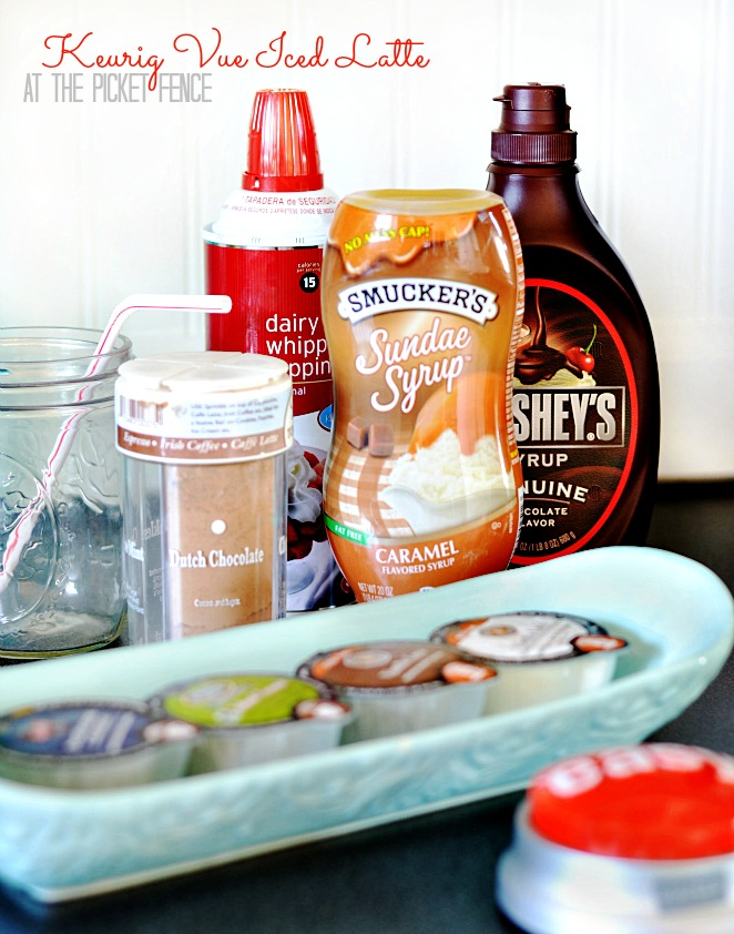 Keurig Vue Iced Latte from At The Picket Fence