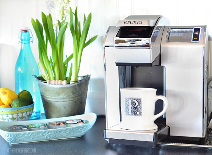 Keurig Vue  from Staples review from At The Picket Fence