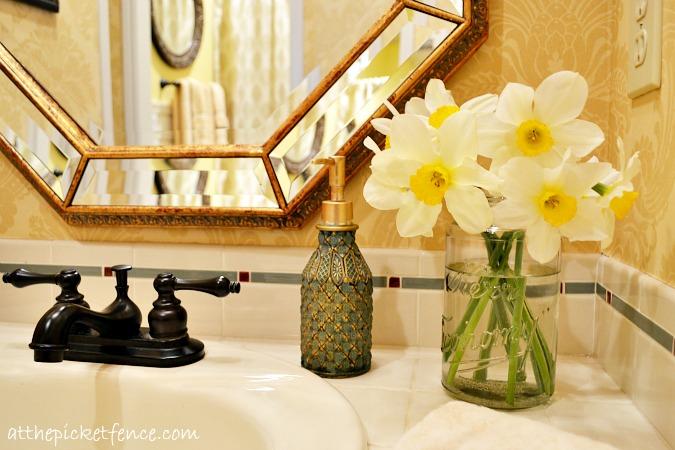 bathroom vanity www.atthepicketfence.com