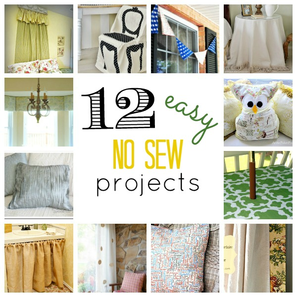 Can't Sew? No worries! {No Sew Round Up}