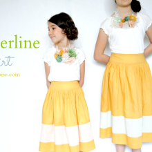 How to make a Borderline Skirt