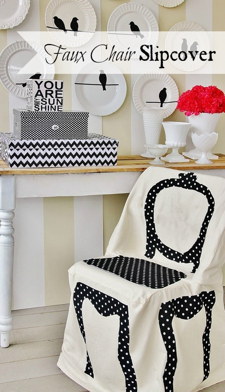 Faux-Chair-Slipcover