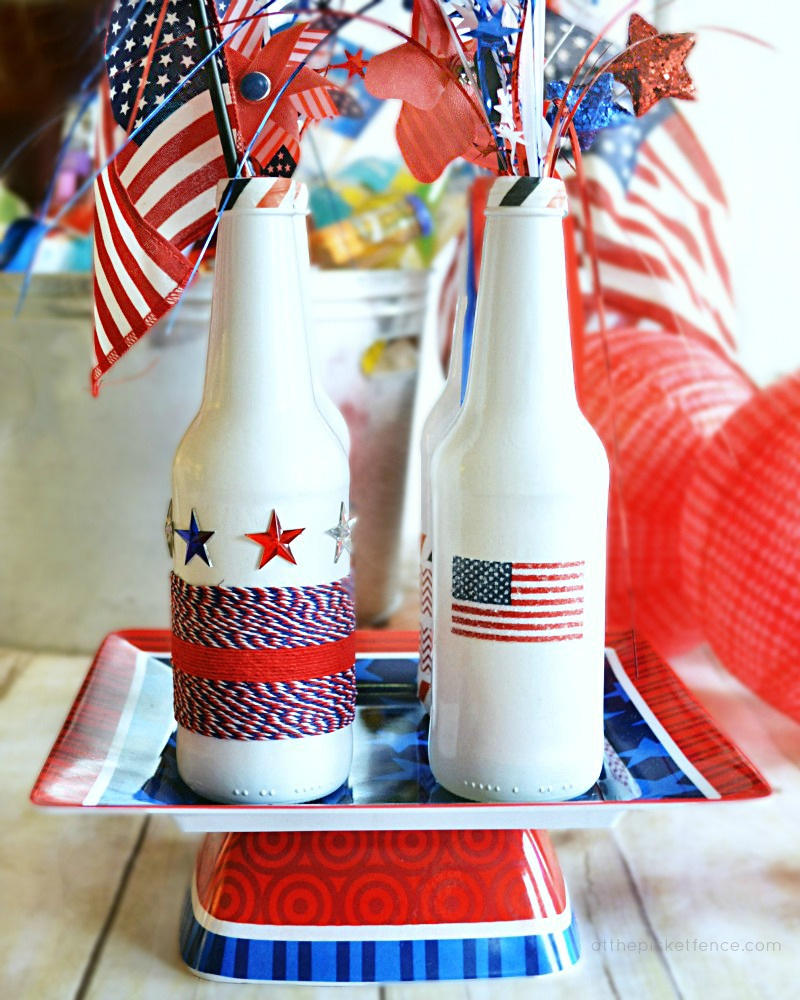 Recycled Patriotic Party Ideas for the 4th of July