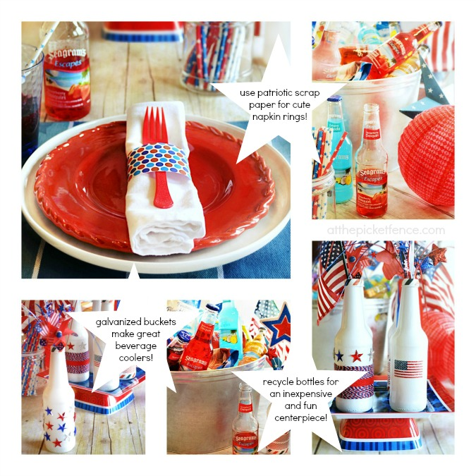 Frugal and Fun Patriotic Celebration Ideas from At The Picket Fence