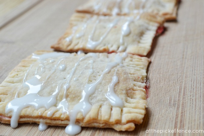 Homemade Toaster Pastries and Precipices - At The Picket Fence