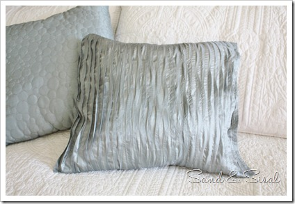 no sew ruffle pillow