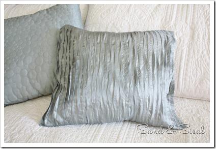 no sew ruffle pillow