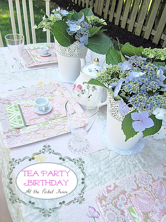 tea-party-little-girl-birthday www.atthepicketfence.com