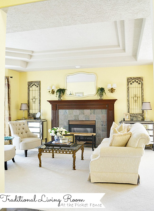 Traditional Formal Living Room Atthepicketfence