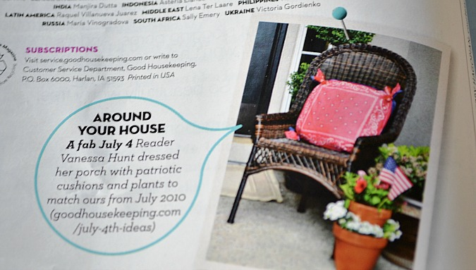 My Good Housekeeping Feature At The Picket Fence