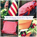 Good Housekeeping inspired 4th of July decor www.atthepicketfence.com