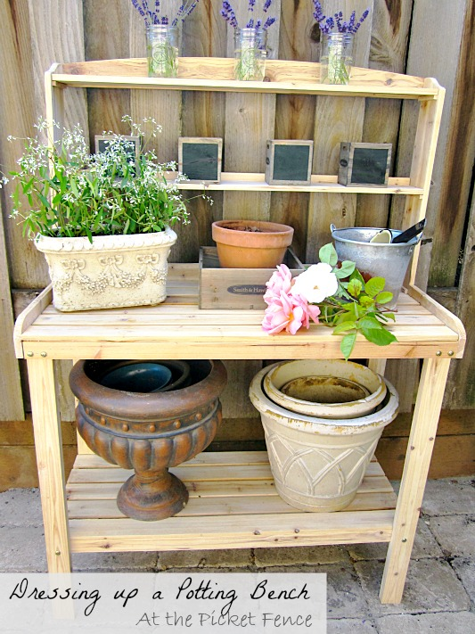 potting_bench_and_garden_accessories www.atthepicketfence.com