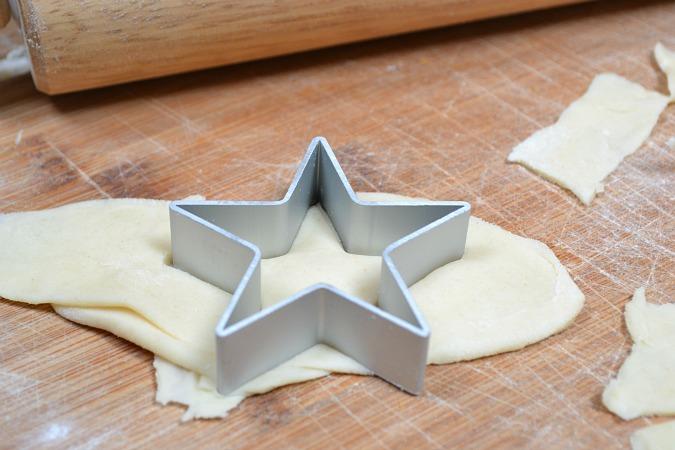 star pie crust cut outs