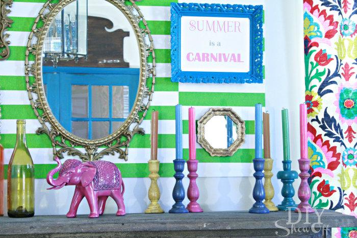 summer-carnival-mantel-1