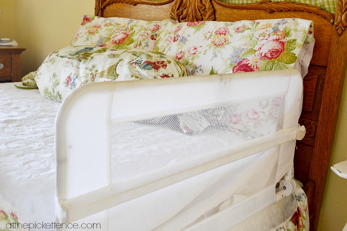 toddler bed guardrail