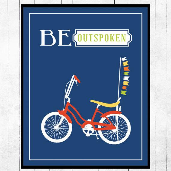 be outspoken