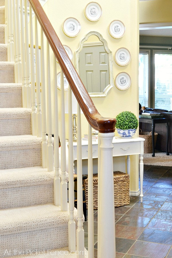 stair_makeover_with_carpet atthepicketfence.com