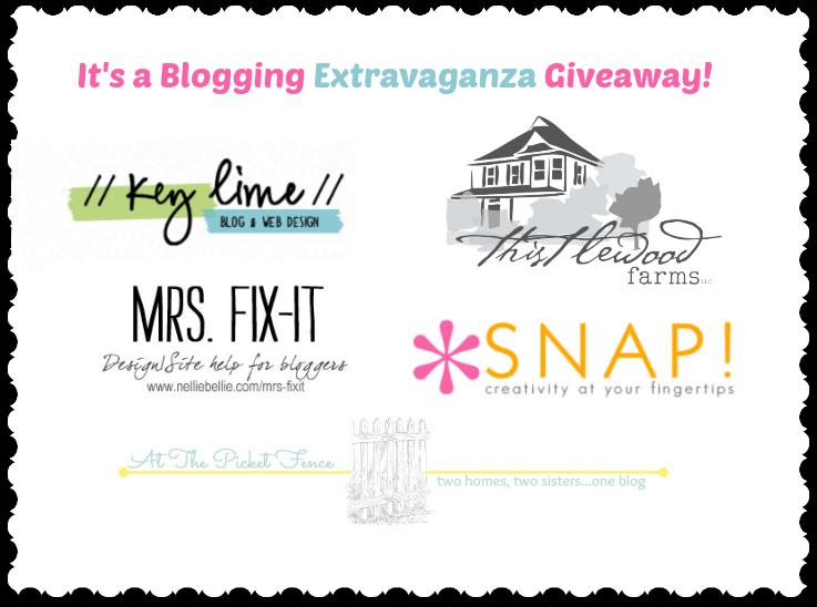 Blogging Extravaganza Giveaway