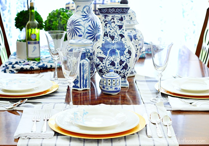 Table Setting Ideas And A Mikasa Giveaway At The Picket Fence