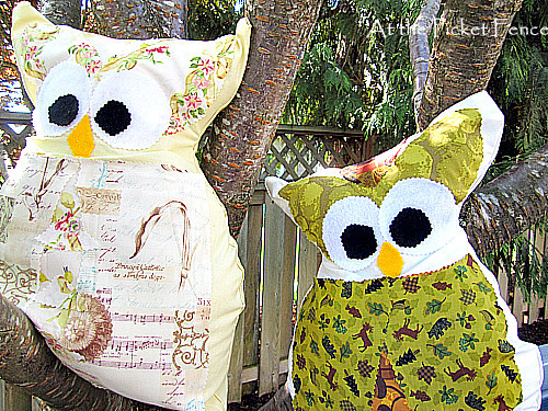 No-Sew Owl Pillow
