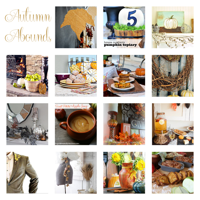 Autumn Abounds Linky Party & $1,000 Prize Package Giveaway!