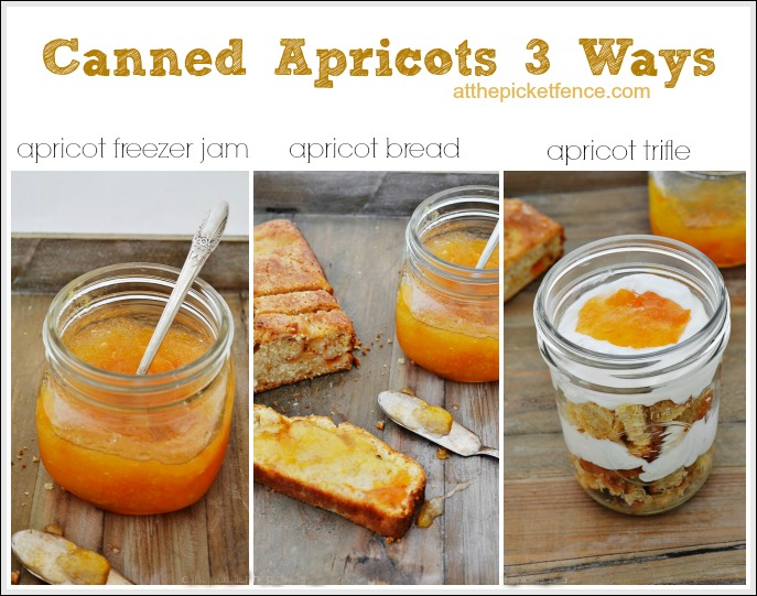 Canned-apricots-3-ways from atthepicketfence.com