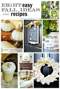 Eight Easy Fall Ideas and Recipes