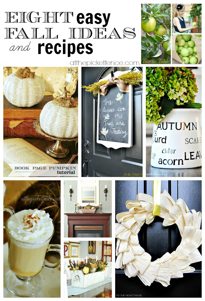 Eight easy fall ideas and recipes!