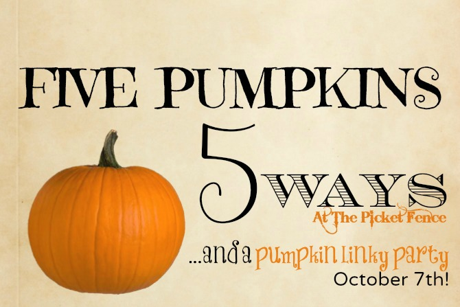 Five Pumpkins Five Ways