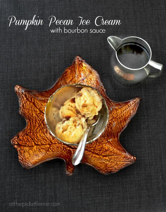 Pumpkin Pecan Ice Cream